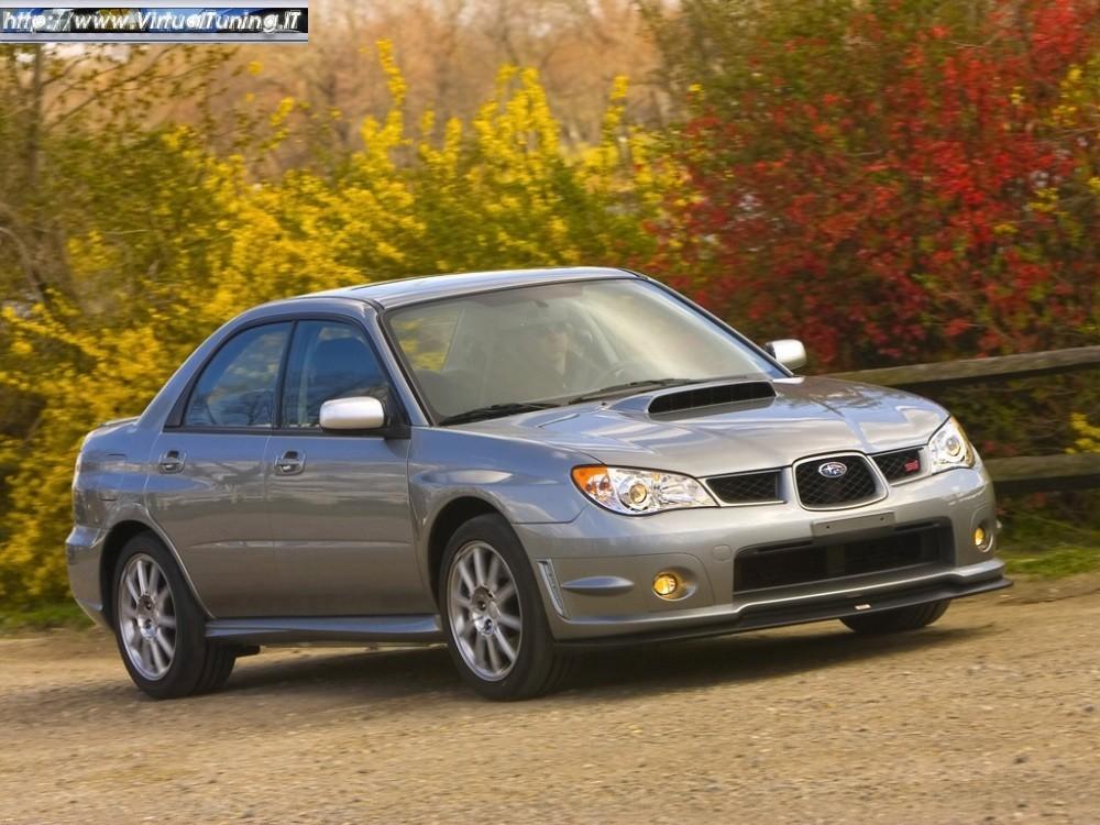 Subaru Impreza WRX STi Base.