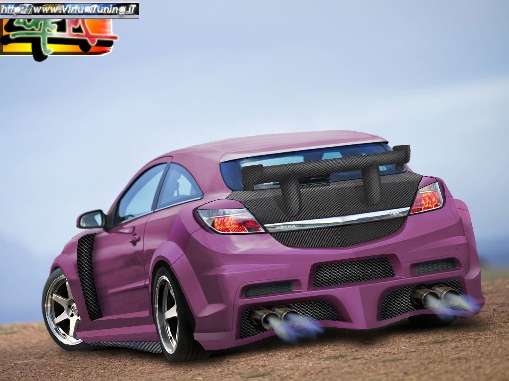 VirtualTuning OPEL Astra OPC by