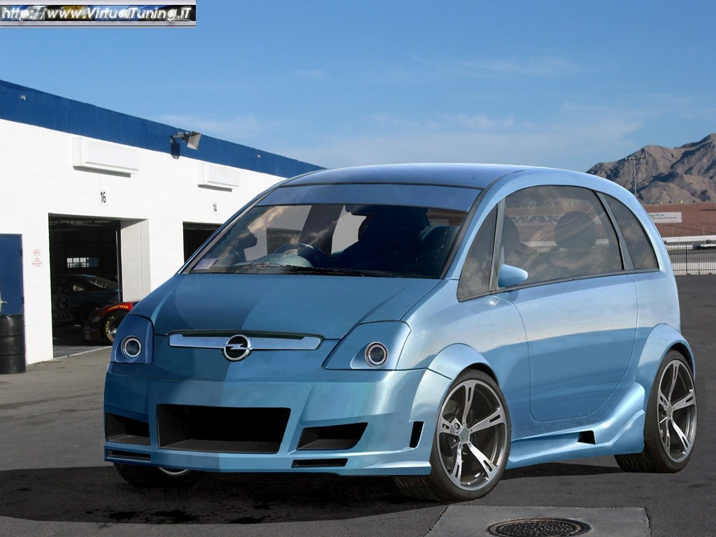 opel meriva by madass virtualtuning it. Black Bedroom Furniture Sets. Home Design Ideas