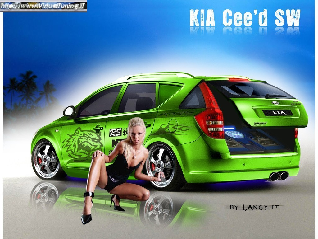 kia cee 39 d sw by langy virtualtuning it. Black Bedroom Furniture Sets. Home Design Ideas