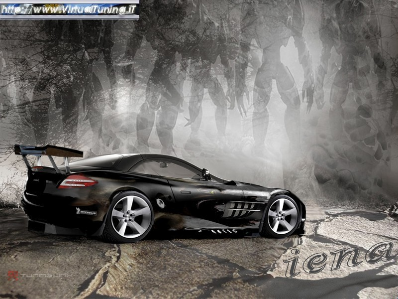 VirtualTuning MERCEDES SLR by IENA