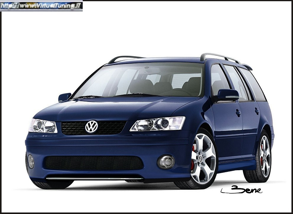 volkswagen bora variant by virtualtuning it. Black Bedroom Furniture Sets. Home Design Ideas