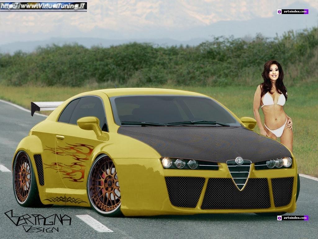 Alfa romeo brera by bertagna design virtualtuning it for Design brera