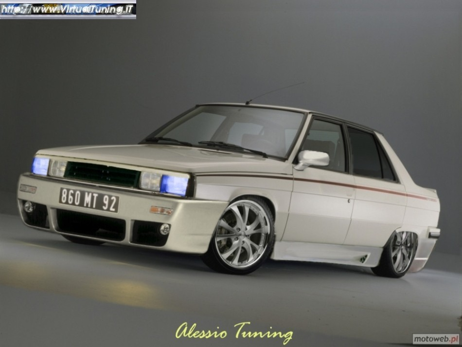 renault 9 turbo by alexus virtualtuning it. Black Bedroom Furniture Sets. Home Design Ideas