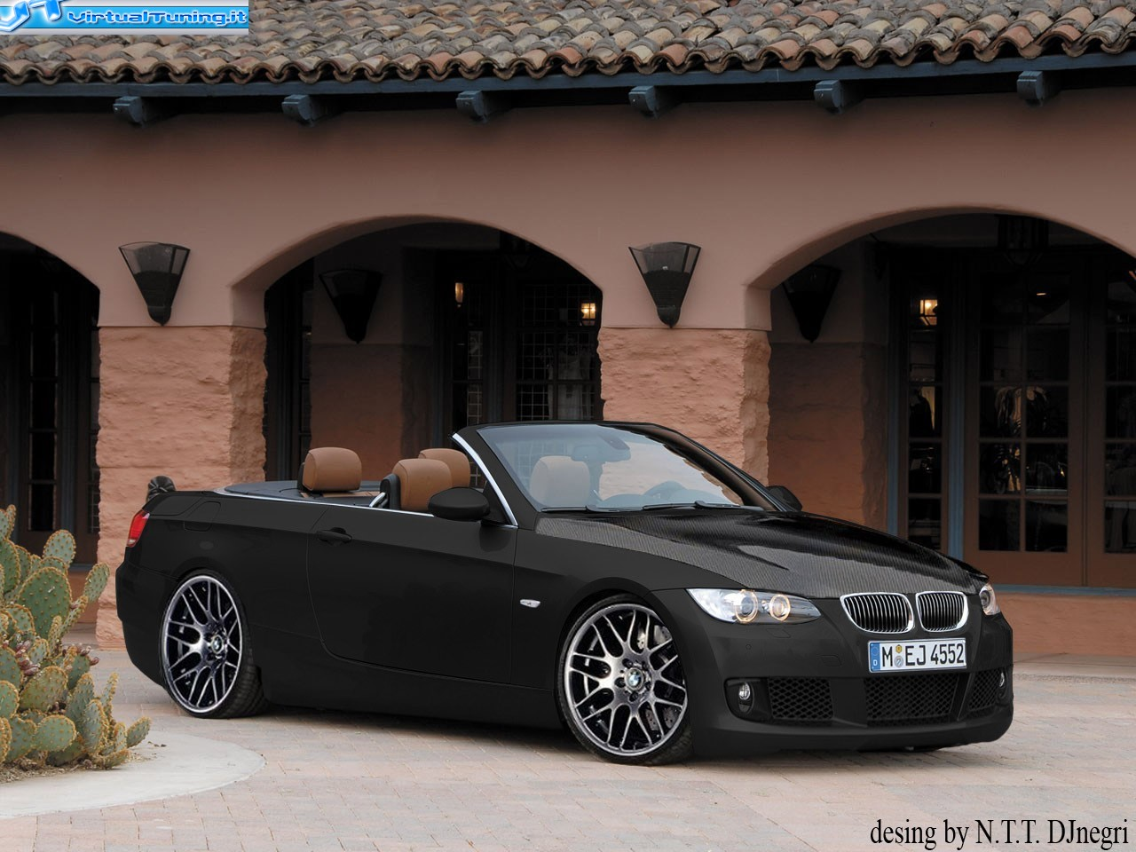 bmw serie 3 cabrio by djnegri virtualtuning it. Black Bedroom Furniture Sets. Home Design Ideas