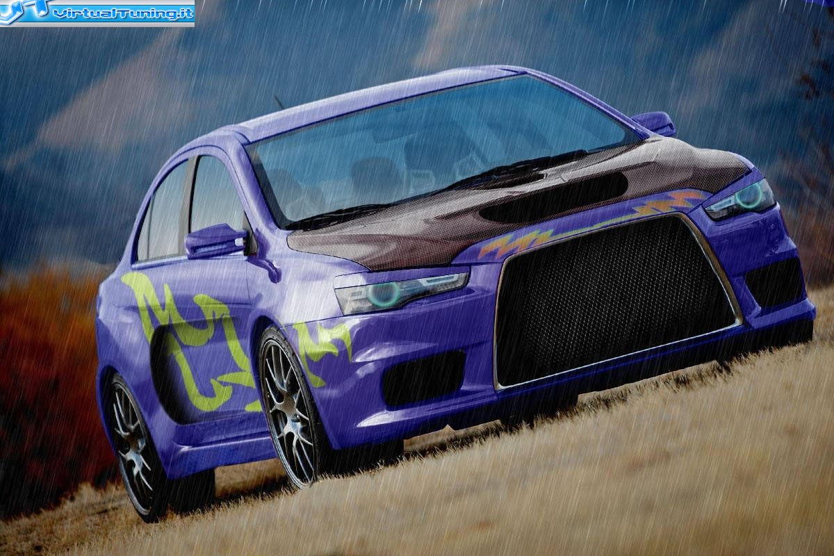 VirtualTuning MITSUBISHI Lancer Evolution X by
