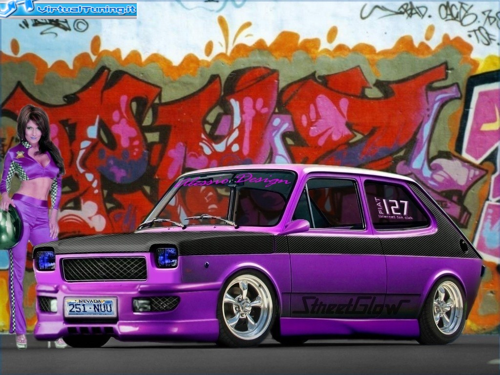 Fiat 127 By Alexus Virtualtuning It