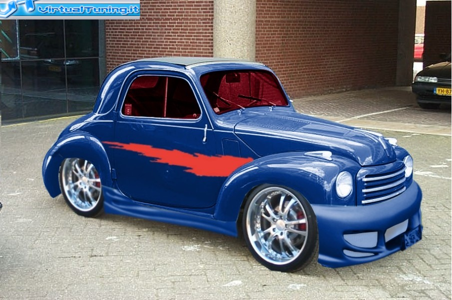 Fiat Topolino By Noxcoupe Virtualtuning It