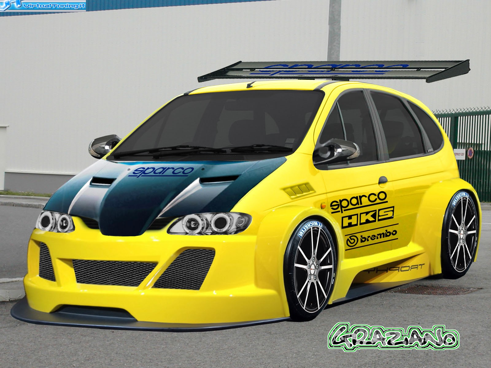 renault megane sc nic 39 98 by ziano virtualtuning it. Black Bedroom Furniture Sets. Home Design Ideas