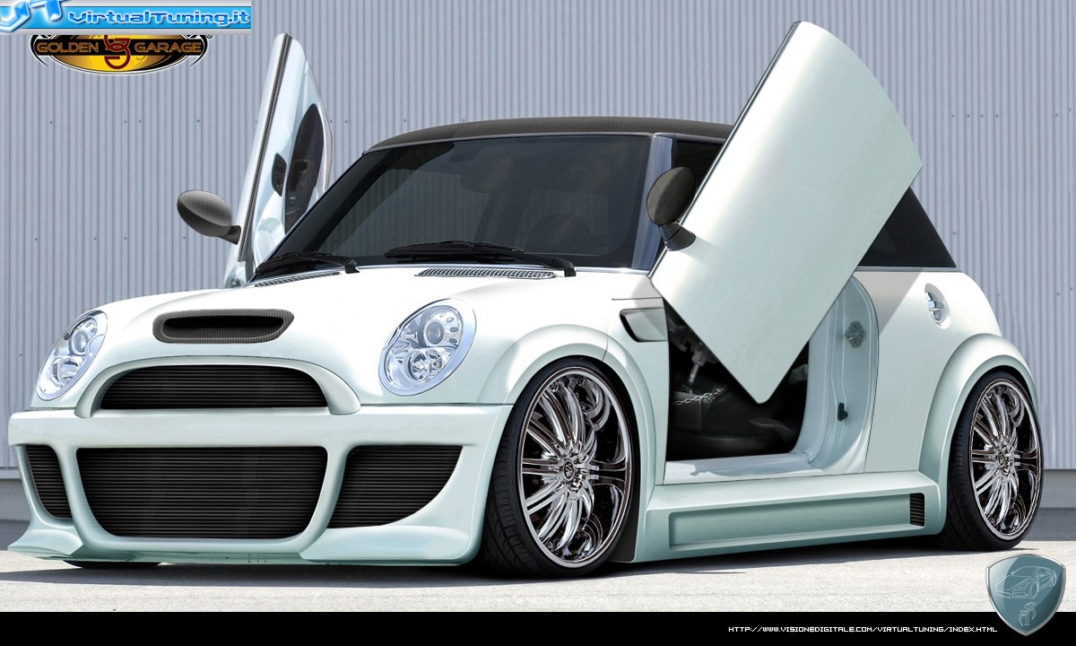 VirtualTuning MINI COOPER S WhiteHell by