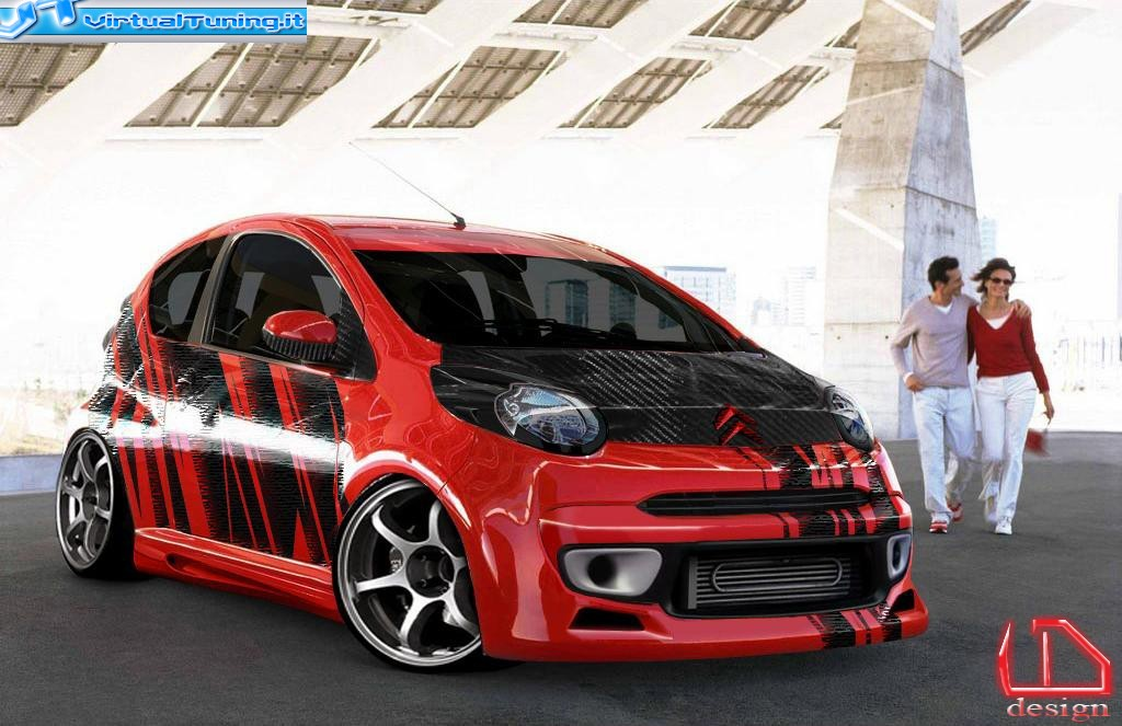 citroen c1 by danieledesign virtualtuning it. Black Bedroom Furniture Sets. Home Design Ideas