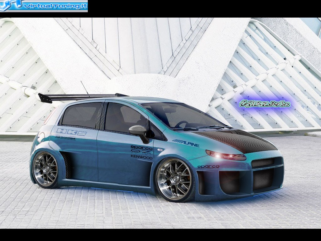 fiat grande punto abarth by ziano virtualtuning it. Black Bedroom Furniture Sets. Home Design Ideas