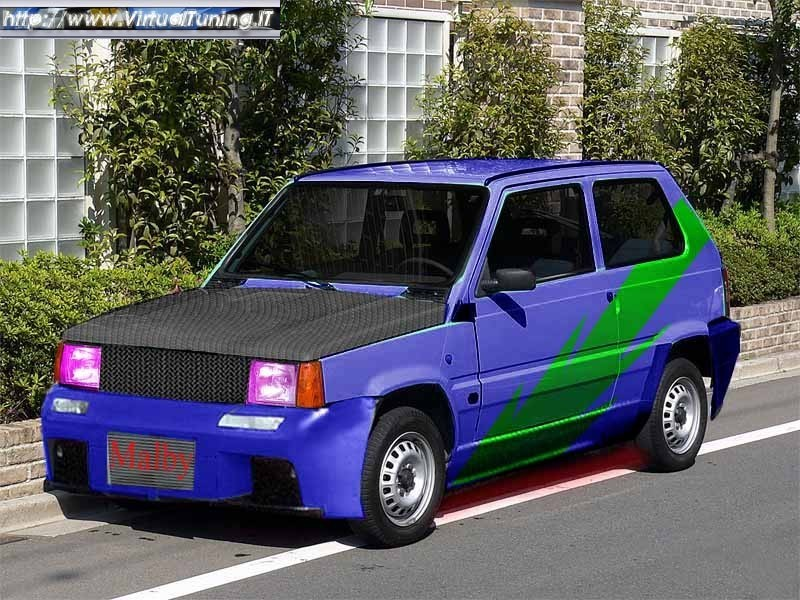 fiat panda young by malby virtualtuning it. Black Bedroom Furniture Sets. Home Design Ideas