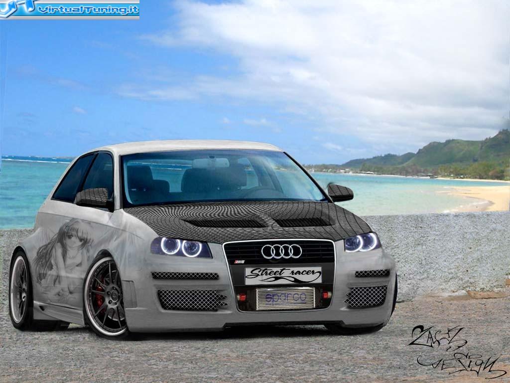 Dettaglio Virtualtuning Audi Rs3 By Gufone91