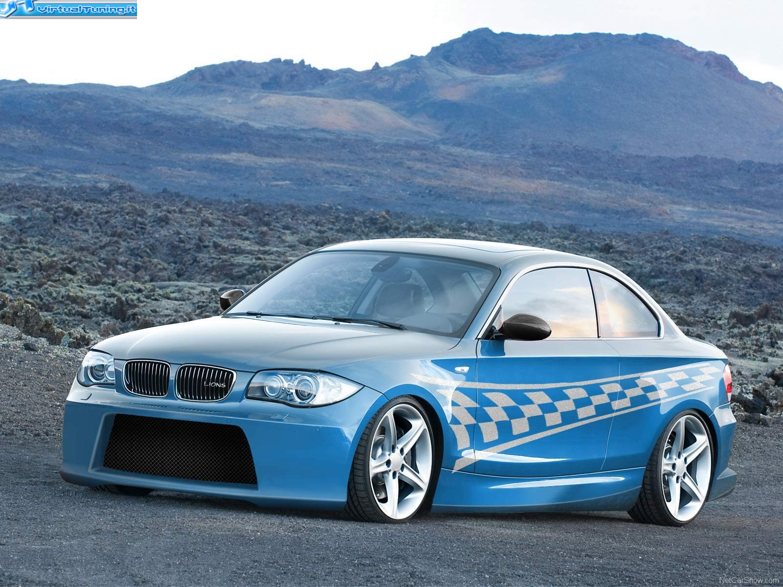 bmw serie 1 coupe by lions tuning virtualtuning it. Black Bedroom Furniture Sets. Home Design Ideas