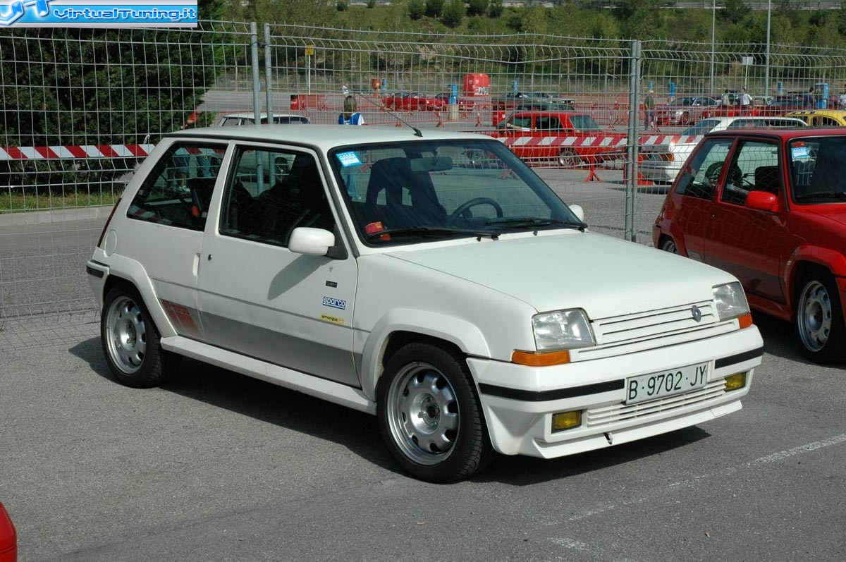 Renault 5 Gt Turbo By Michelino Virtualtuning It