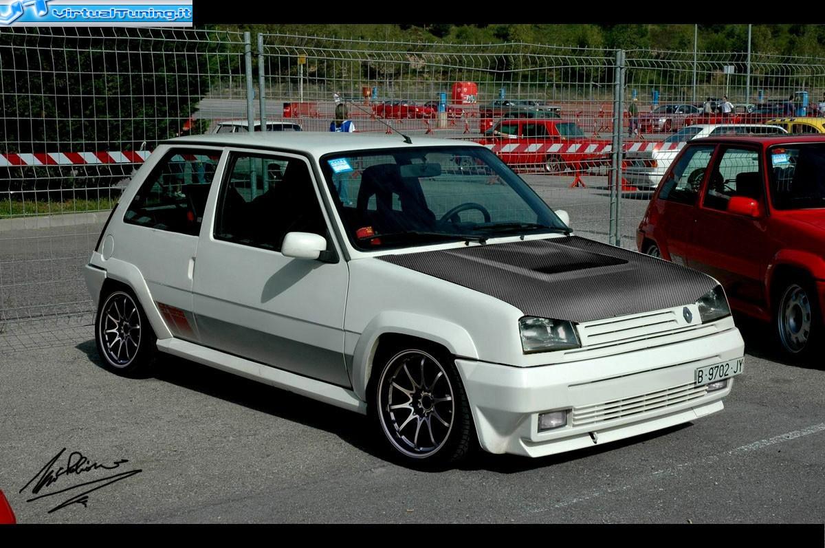 Michelino Renault 5 Gt Turbo
