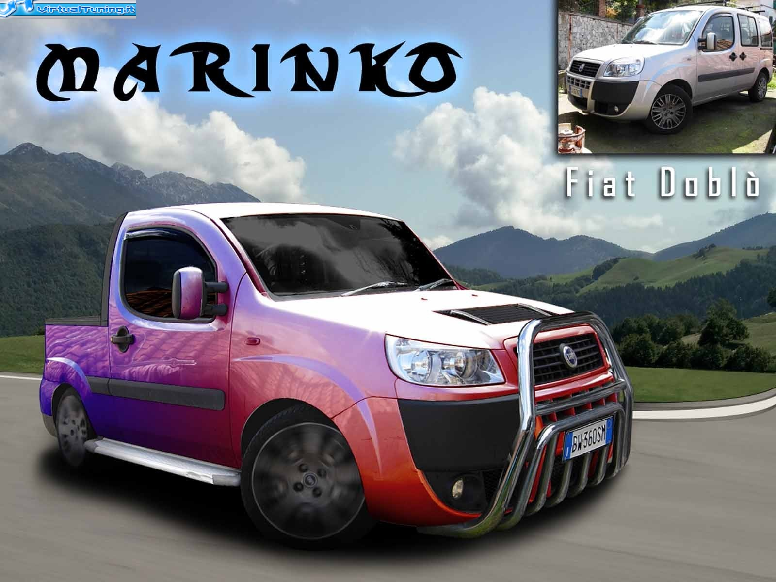 Fiat Dobl 242 By Marinko Virtualtuning It