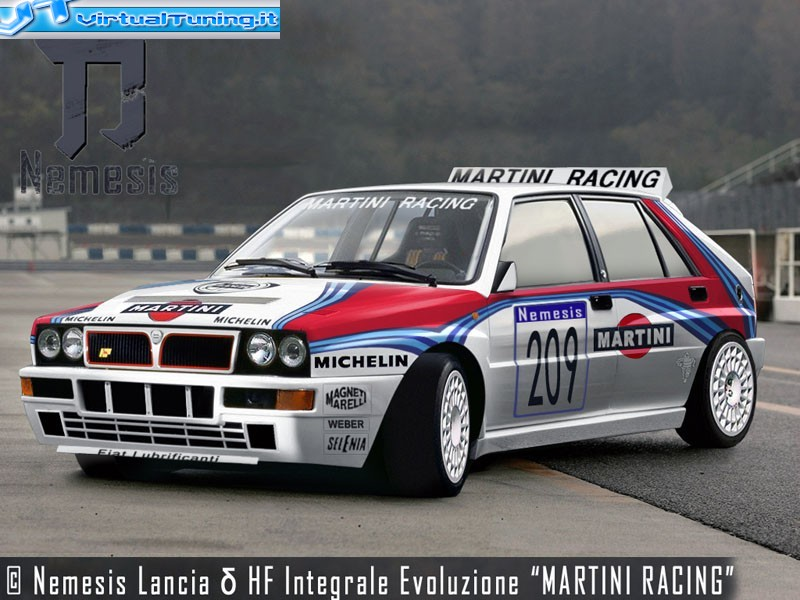 lancia delta evo by nemesis virtualtuning it. Black Bedroom Furniture Sets. Home Design Ideas