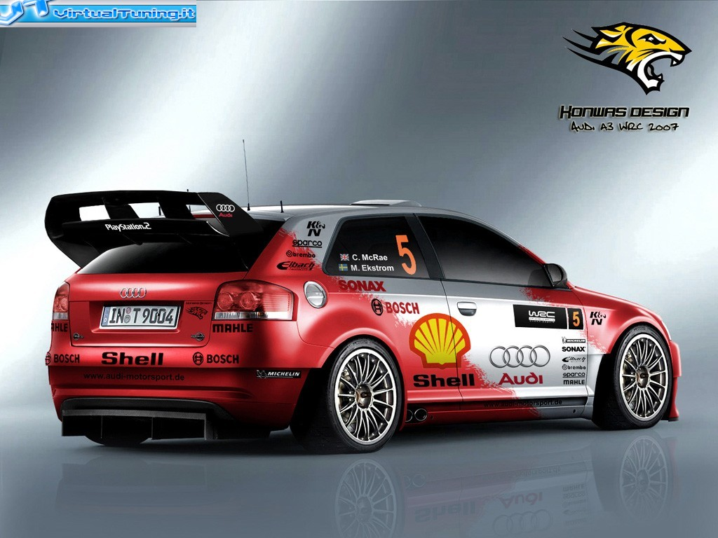 audi a3 wrc 2007 by konwas design virtualtuning it. Black Bedroom Furniture Sets. Home Design Ideas