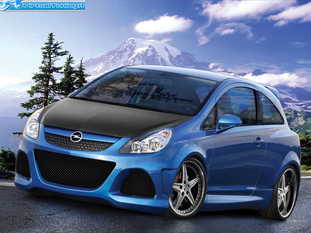 opel corsa opc by tmotd virtualtuning it. Black Bedroom Furniture Sets. Home Design Ideas