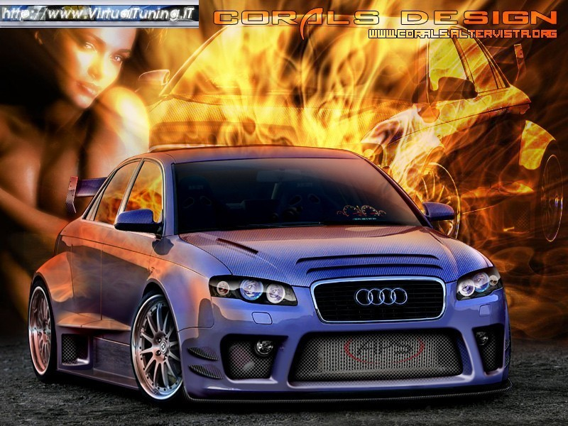 VirtualTuning AUDI A4 by