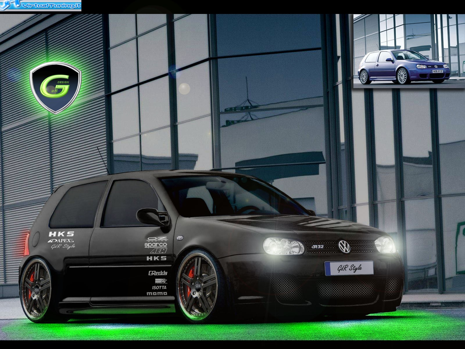 The gallery for --> Golf 4 R32 Tuning