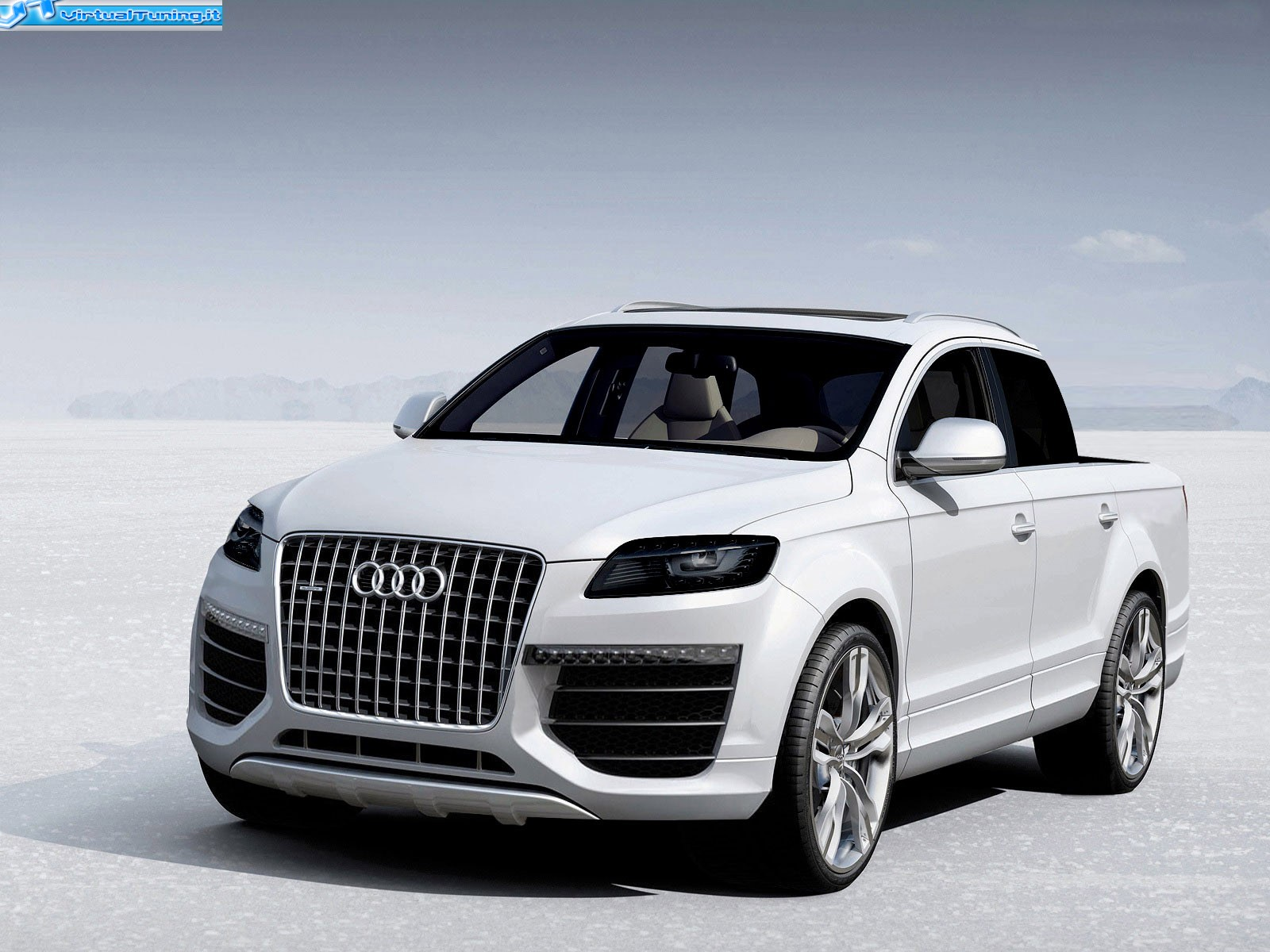 audi q7 special edition pick up by paul phoenix virtualtuning it. Black Bedroom Furniture Sets. Home Design Ideas
