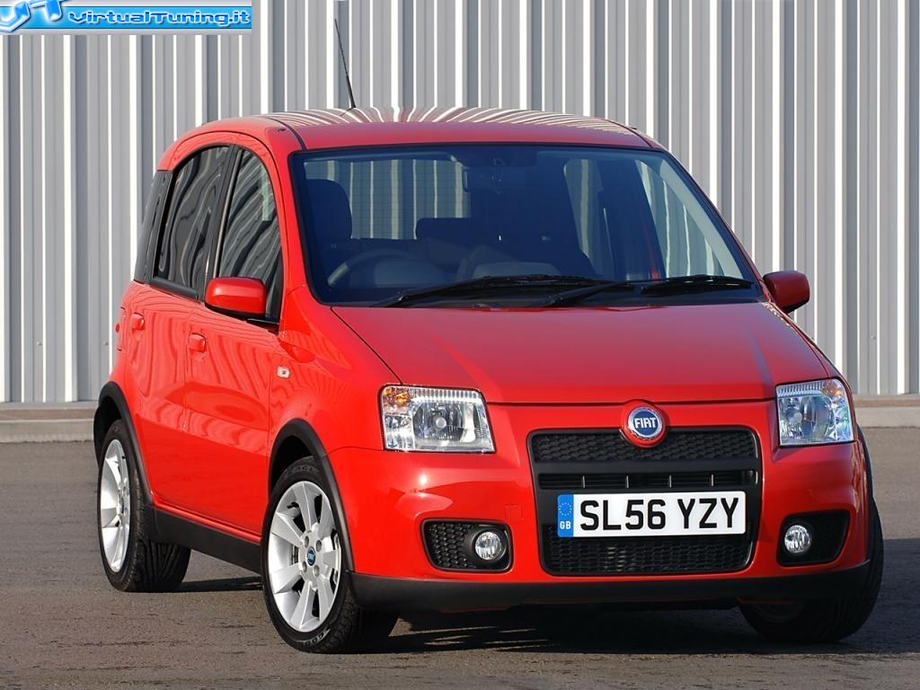 fiat panda 100hp by luter virtualtuning it. Black Bedroom Furniture Sets. Home Design Ideas