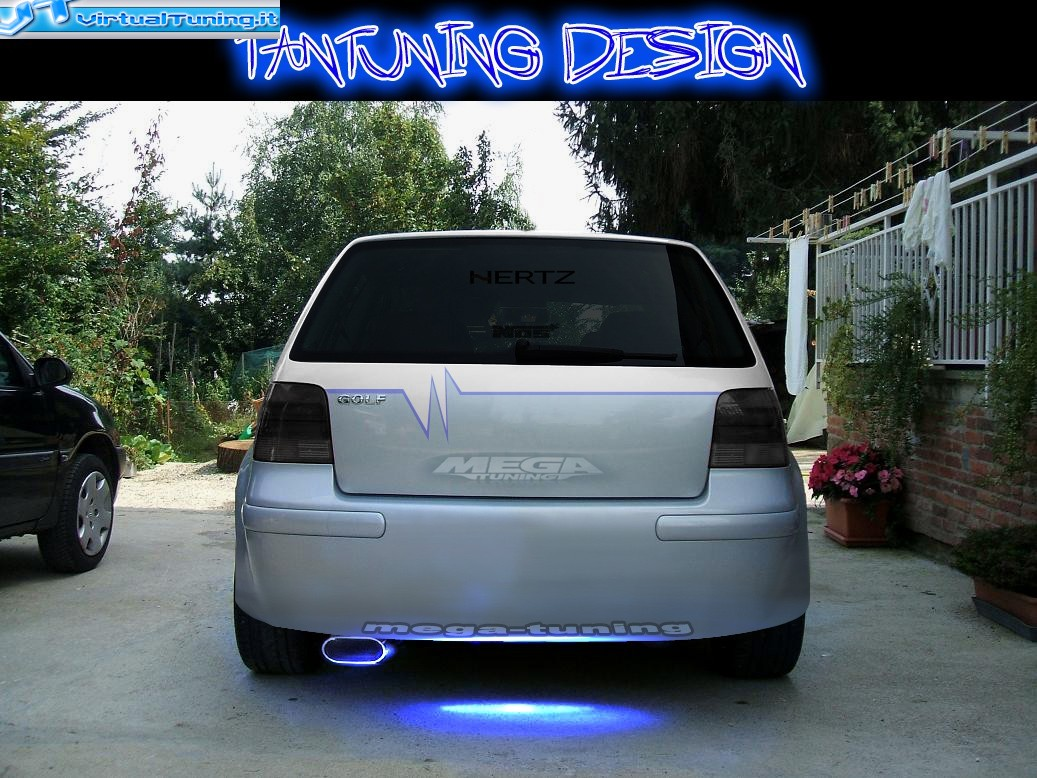 VirtualTuning VOLKSWAGEN Golf IV by