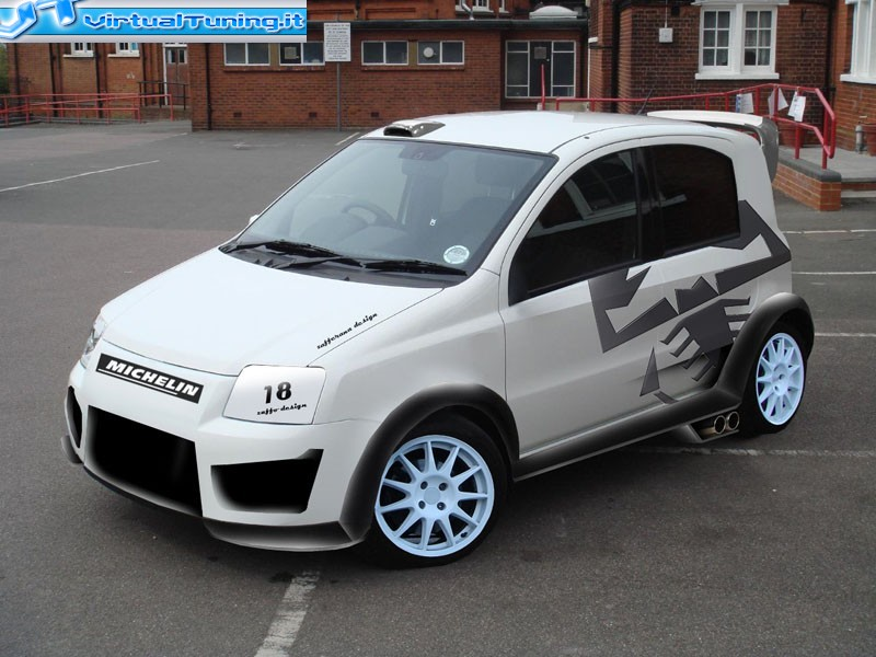 Fiat Panda 100hp By Mondomarcio Virtualtuning It