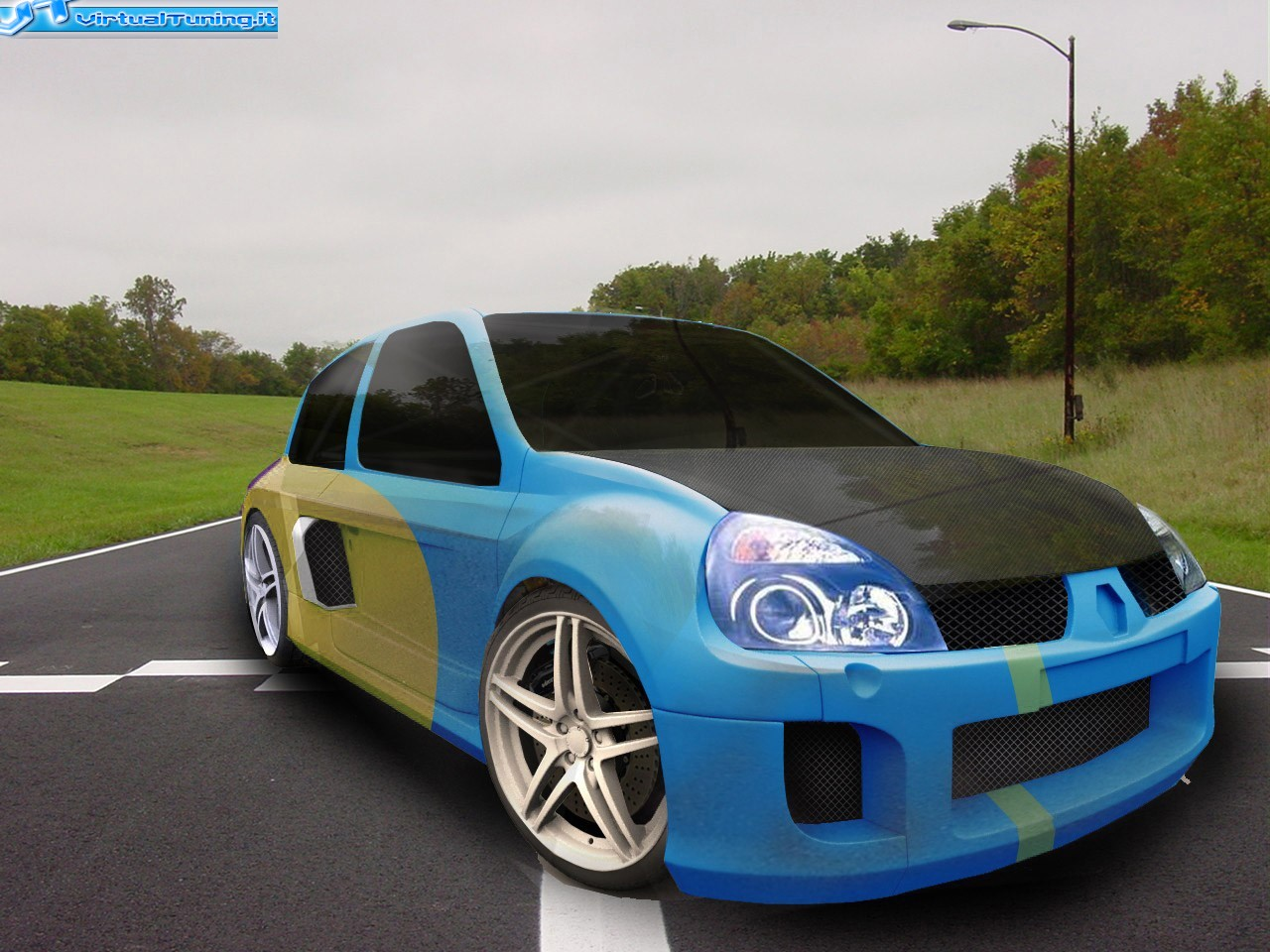 VirtualTuning RENAULT Clio V6 by