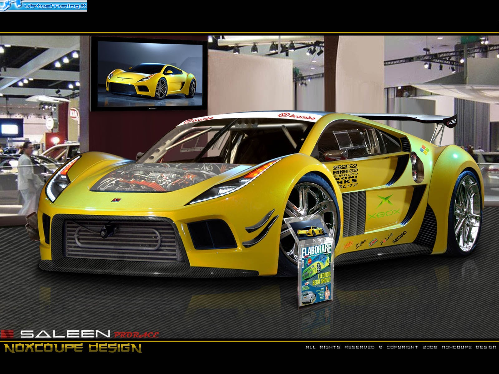 Saleen S5S Raptor for 2016. Not bad-lookin', and it GOES! I'll ...