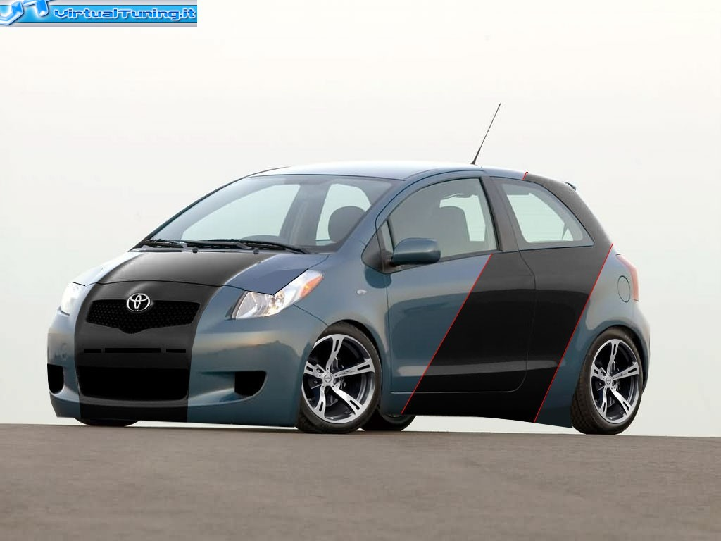 toyota tuning yaris. Black Bedroom Furniture Sets. Home Design Ideas