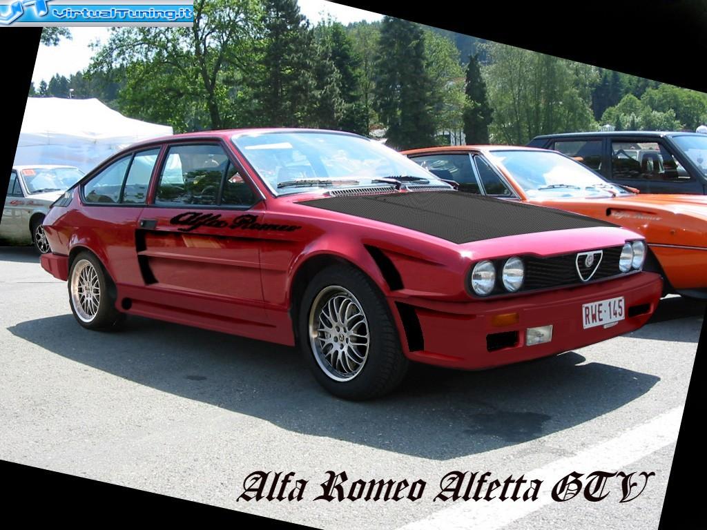 Alfa Romeo Alfetta Gtv By Mardurecchi Virtualtuning
