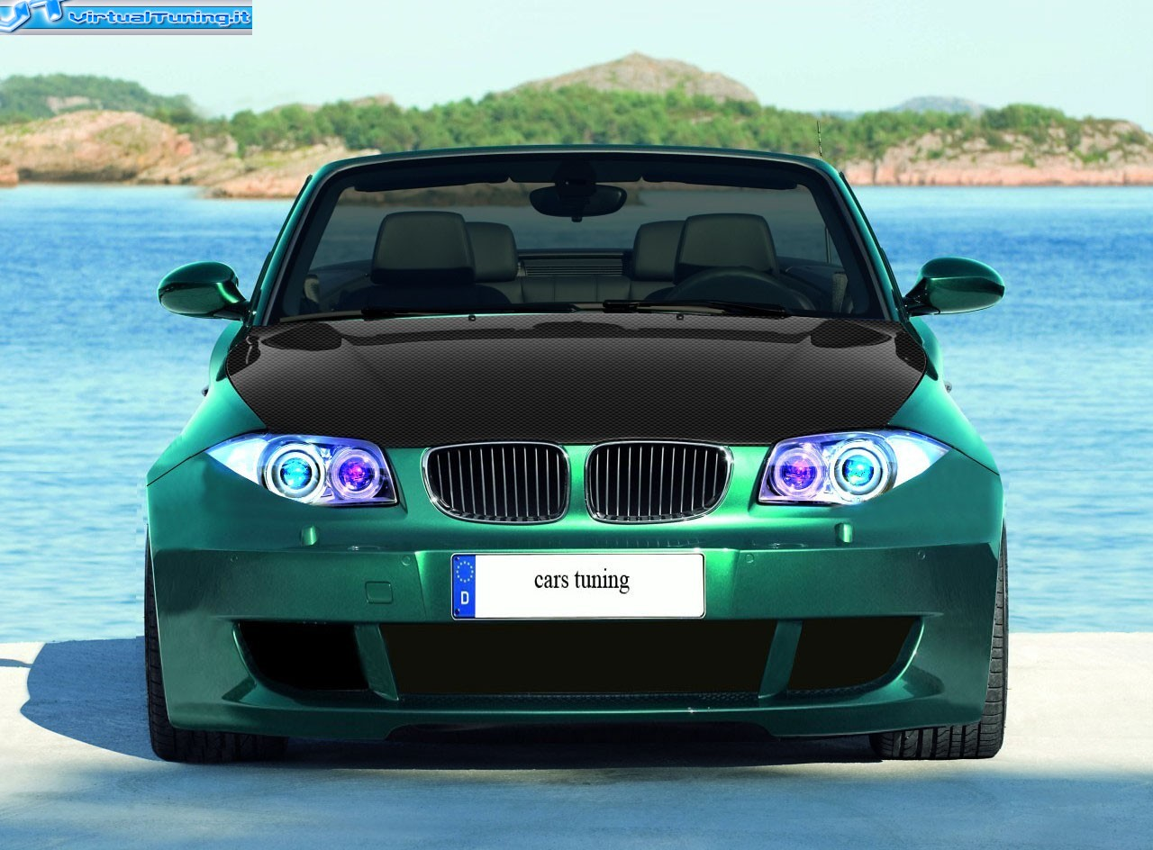 bmw serie 1 cabrio by cars tuning virtualtuning it. Black Bedroom Furniture Sets. Home Design Ideas