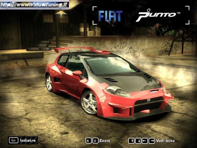 Games Car: FIAT Punto by MRG Tuning