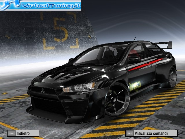 Games Car: MITSUBISHI Lancer by Focus TDCI