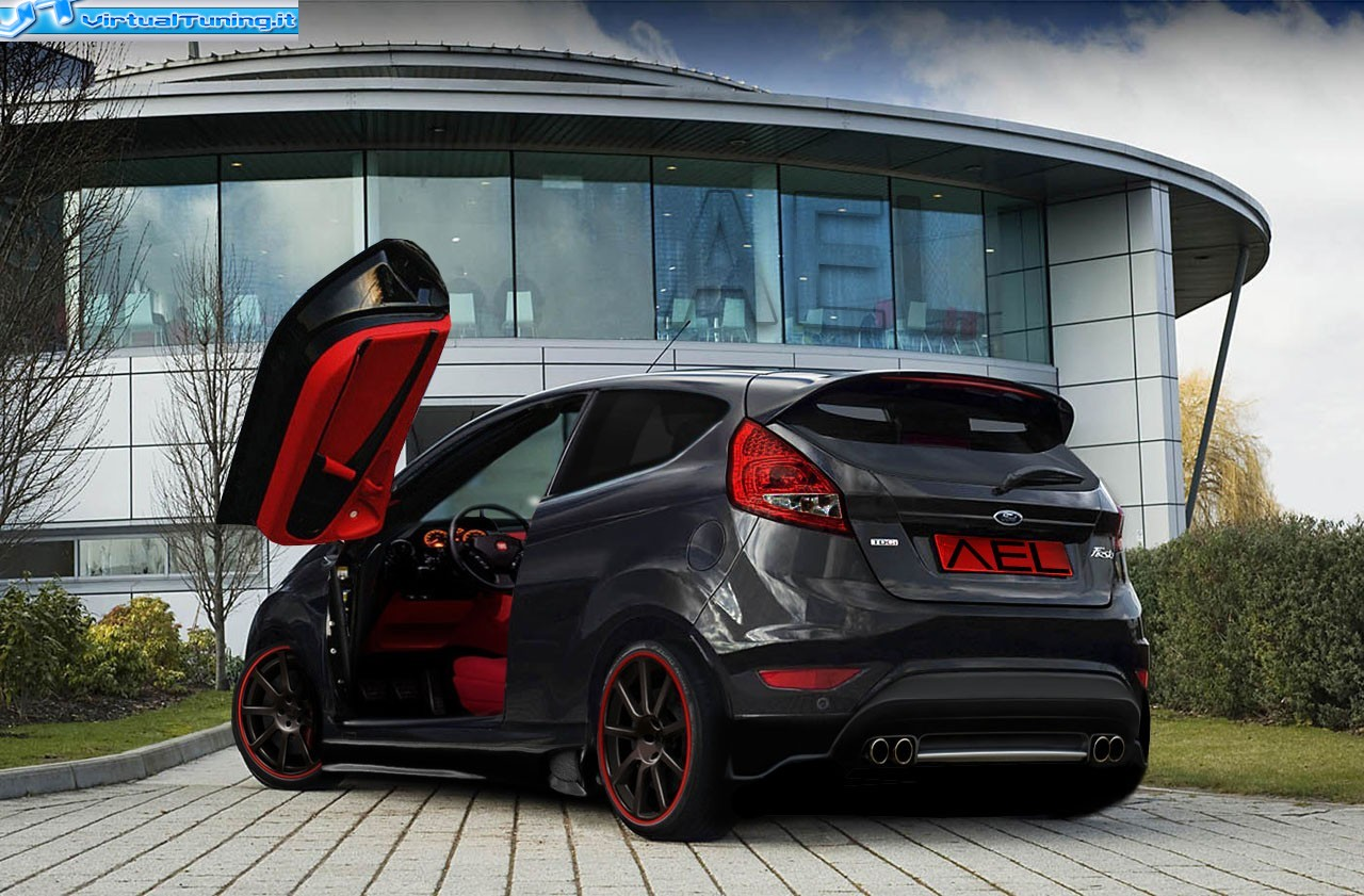 Ford Fiesta By Ael Design Virtualtuning It