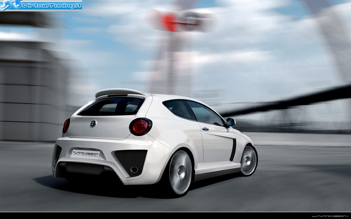 alfa romeo mito by antostyle virtualtuning it. Black Bedroom Furniture Sets. Home Design Ideas