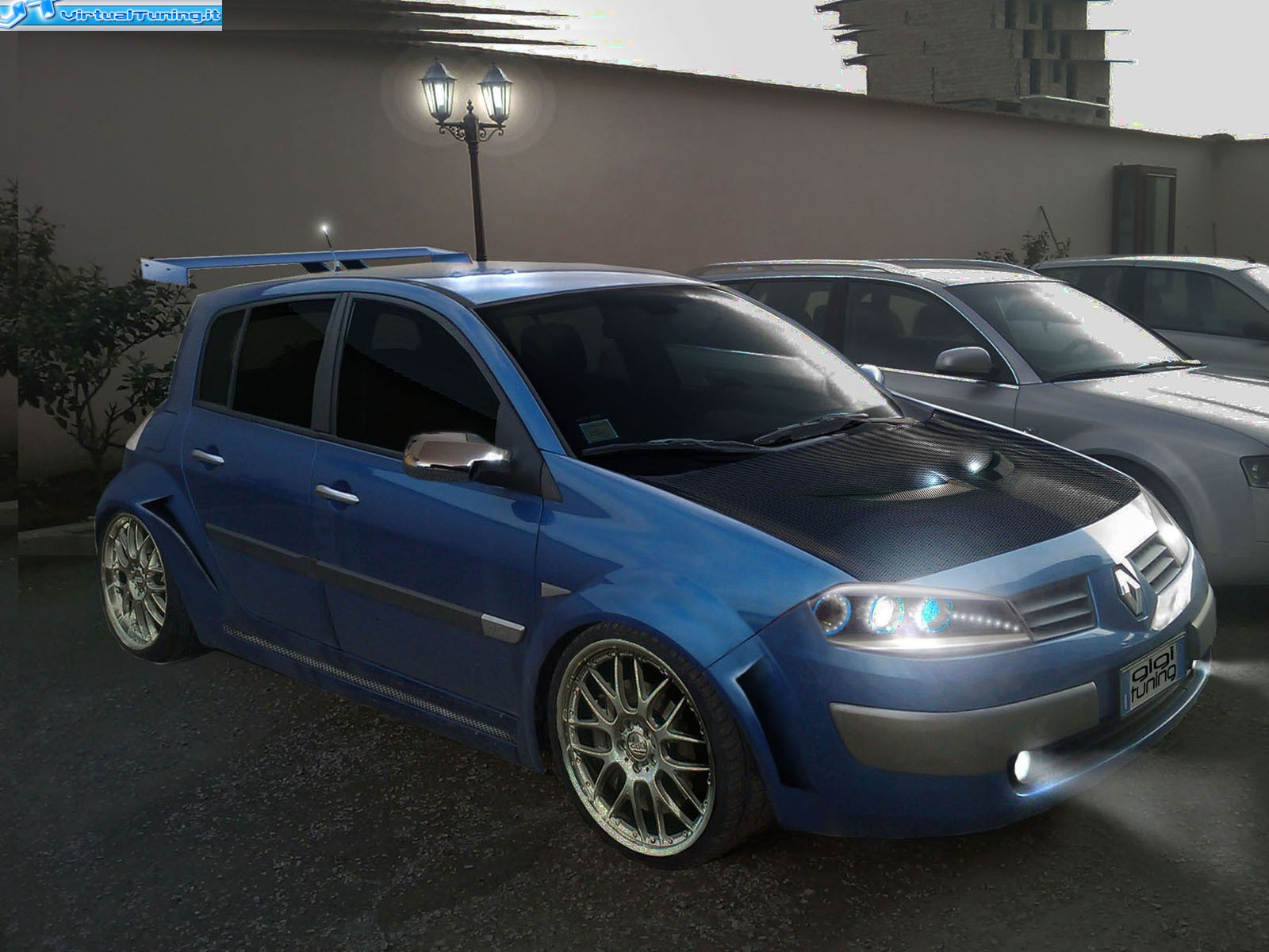 renault megane 2 by amodio tuning virtualtuning it. Black Bedroom Furniture Sets. Home Design Ideas
