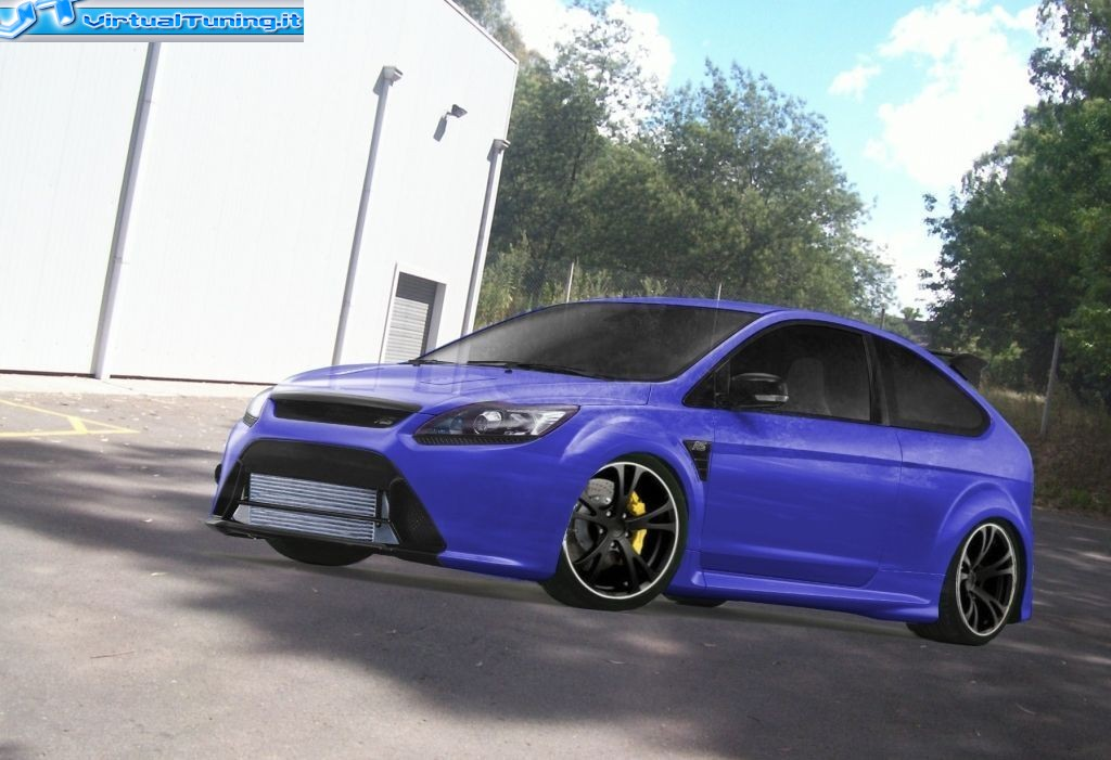 VirtualTuning FORD Focus RS by SIMODESYGN