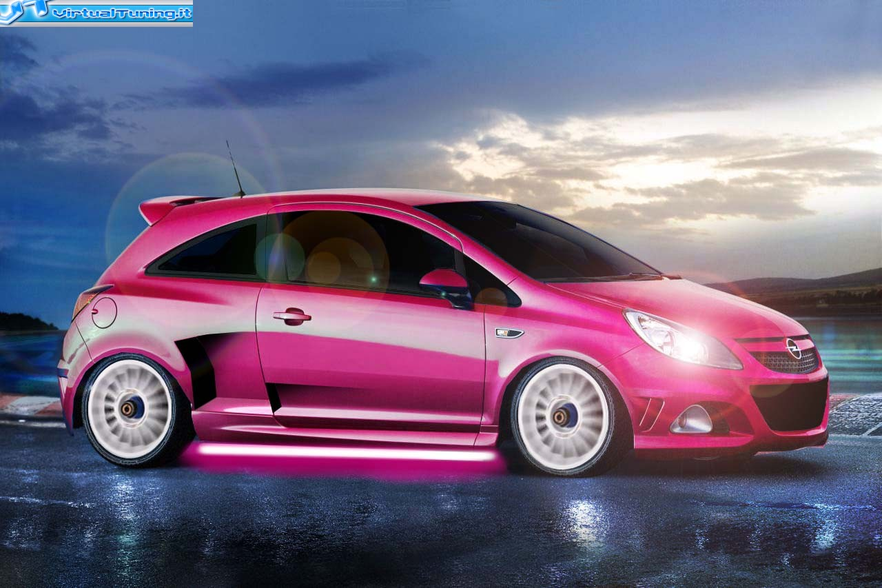 opel corsa opc by il met 24 virtualtuning it. Black Bedroom Furniture Sets. Home Design Ideas