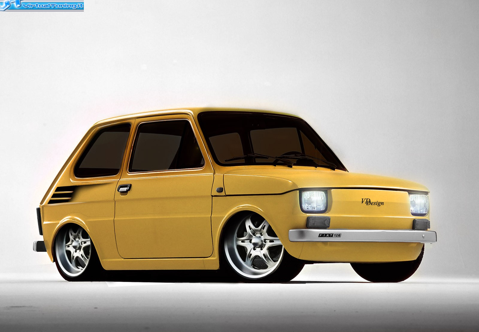 fiat 126 by difi virtualtuning it. Black Bedroom Furniture Sets. Home Design Ideas