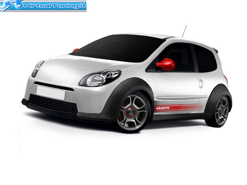 renault twingo rs by abarth design virtualtuning it. Black Bedroom Furniture Sets. Home Design Ideas