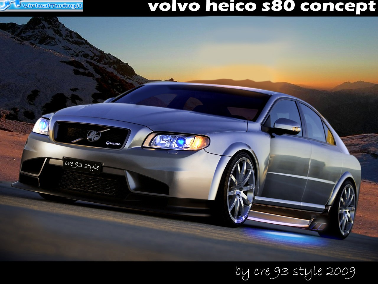 VirtualTuning VOLVO S80 HEICO by