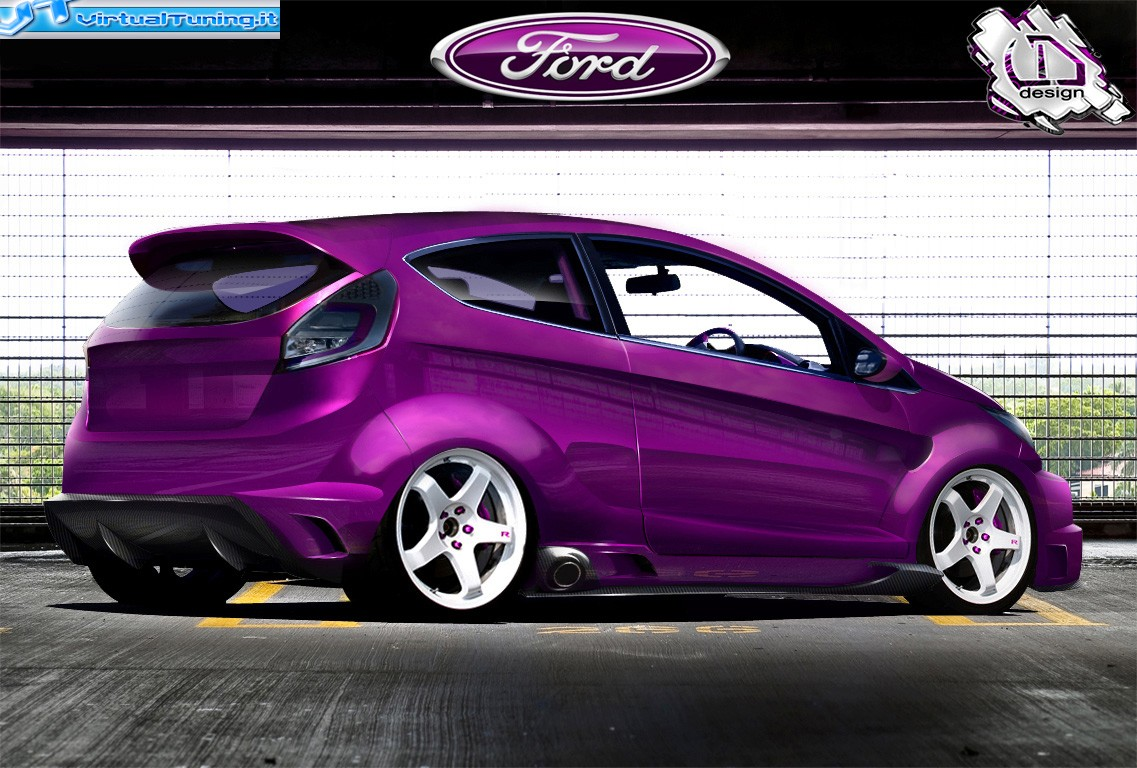 ford fiesta by danieledesign virtualtuning it. Black Bedroom Furniture Sets. Home Design Ideas