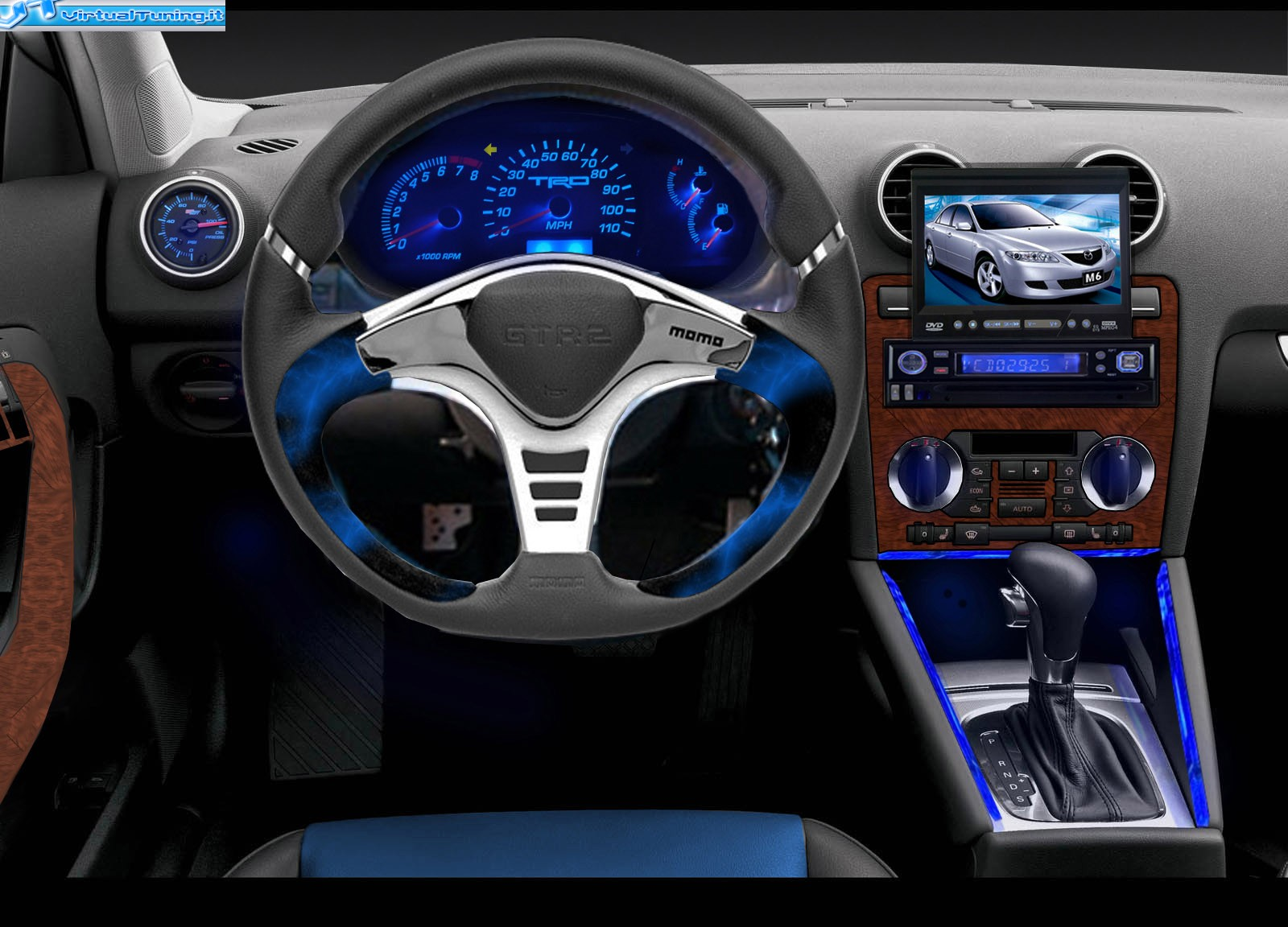 Dettaglio Virtualtuning Interni Audi A3 By Tarik9