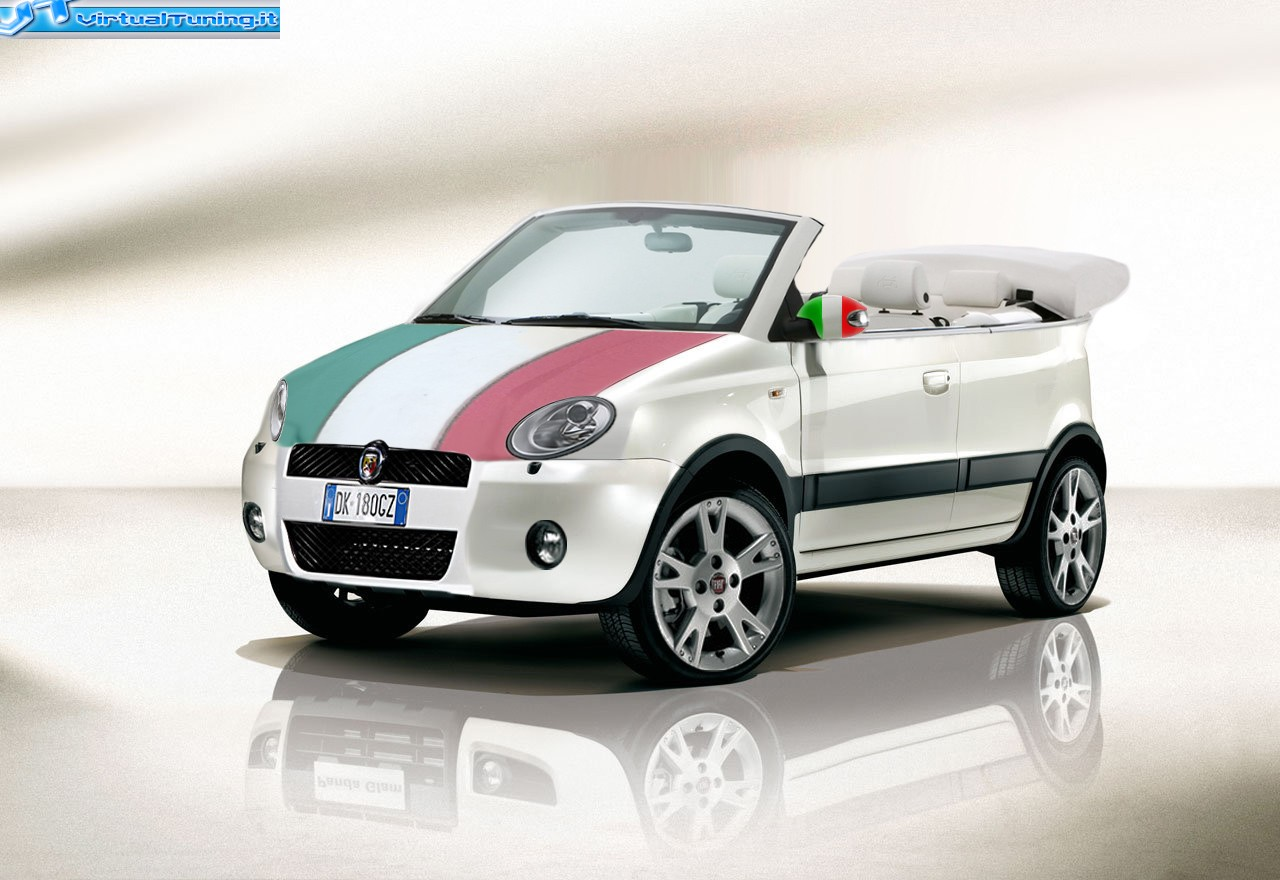 fiat panda coup cabriolet by gnopt virtualtuning it. Black Bedroom Furniture Sets. Home Design Ideas