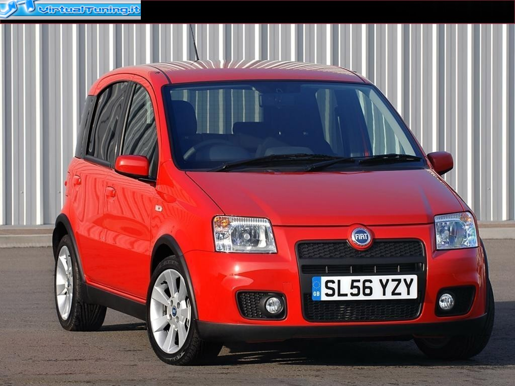 fiat panda 100hp by elboca virtualtuning it. Black Bedroom Furniture Sets. Home Design Ideas